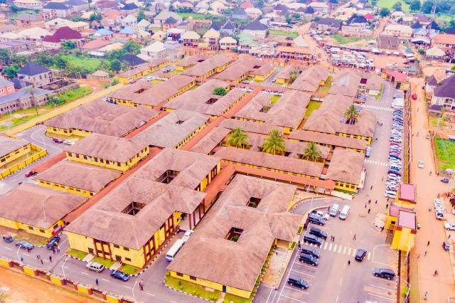 Aerial View of Asaba Specialist Hospital