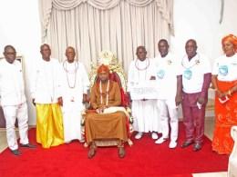 CEPEJ Celebrate 2021 International Day of Peace with Olu of Warri