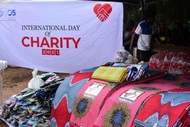 Dame Okowa, O5 Initiative International Day of Charity 2021