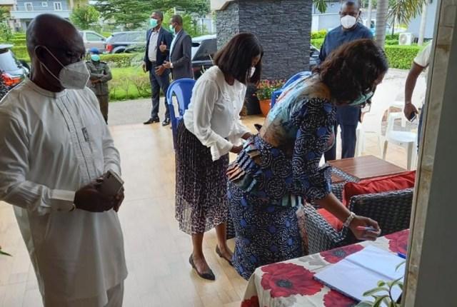 Edith Okowa Condoles Macaulay
