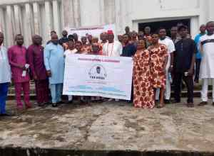 Group Photograph at the Launch of Grass Roots Marshalls for Ovie Omo-Agege 2023 Guber Ambition