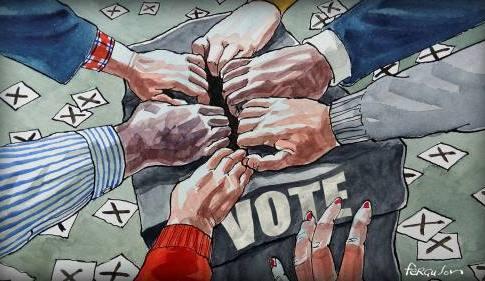 Democracy illustration Image