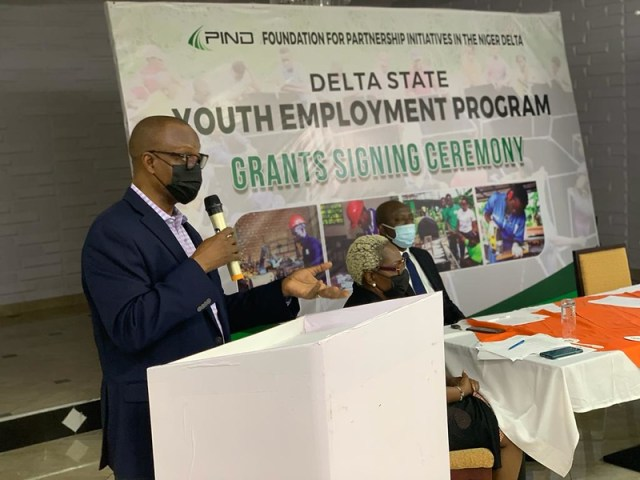 Delta Youth Employment Program by the Foundation for Partnership Initiatives in the Niger Delta - PIND