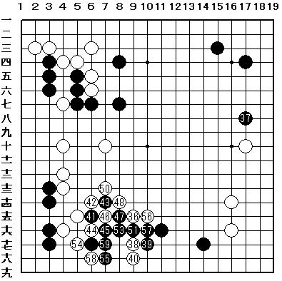asahi.com :第30期名人戦最終予選3組決勝 - 囲碁