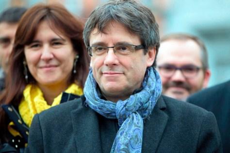 スペイン・カタルーニャ自治州のプッチダモン前州首相=AP