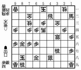 【図B】出口四段―荒木アマ・△5一玉まで