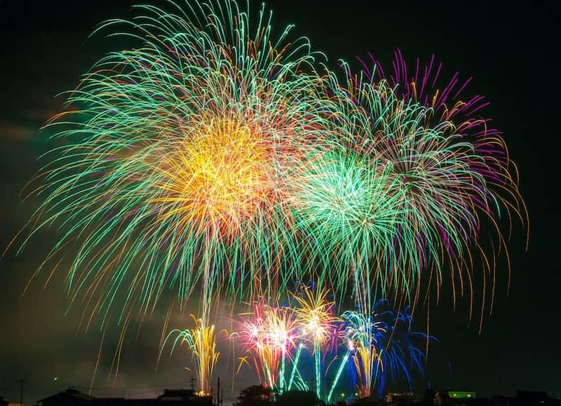 Fantasy writer's fireworks