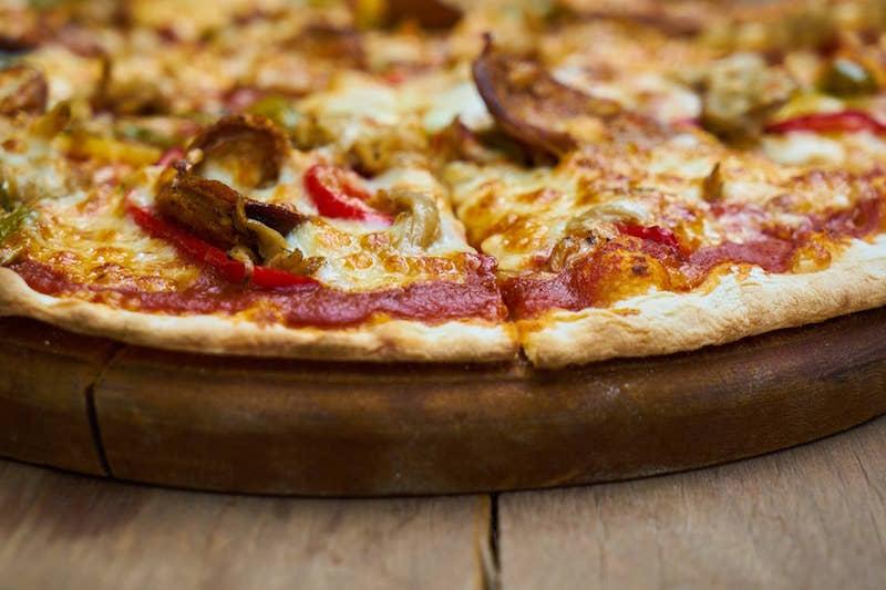 Not eating better: pizza
