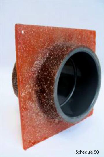 Waterstop Couplings with Fiberglass Flange  ASA MFG Fiberglass Products