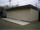 王禅寺中央中学校備蓄倉庫
