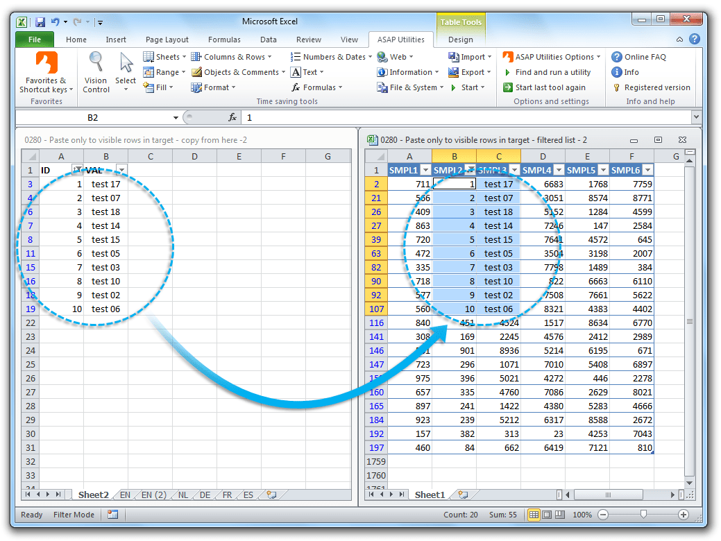 Asap Utilities Excel Add In Free Ms Excel Software Tools Add Ins For Microsoft Excel 365
