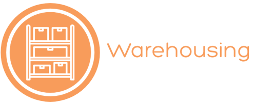 warehousing icon and title
