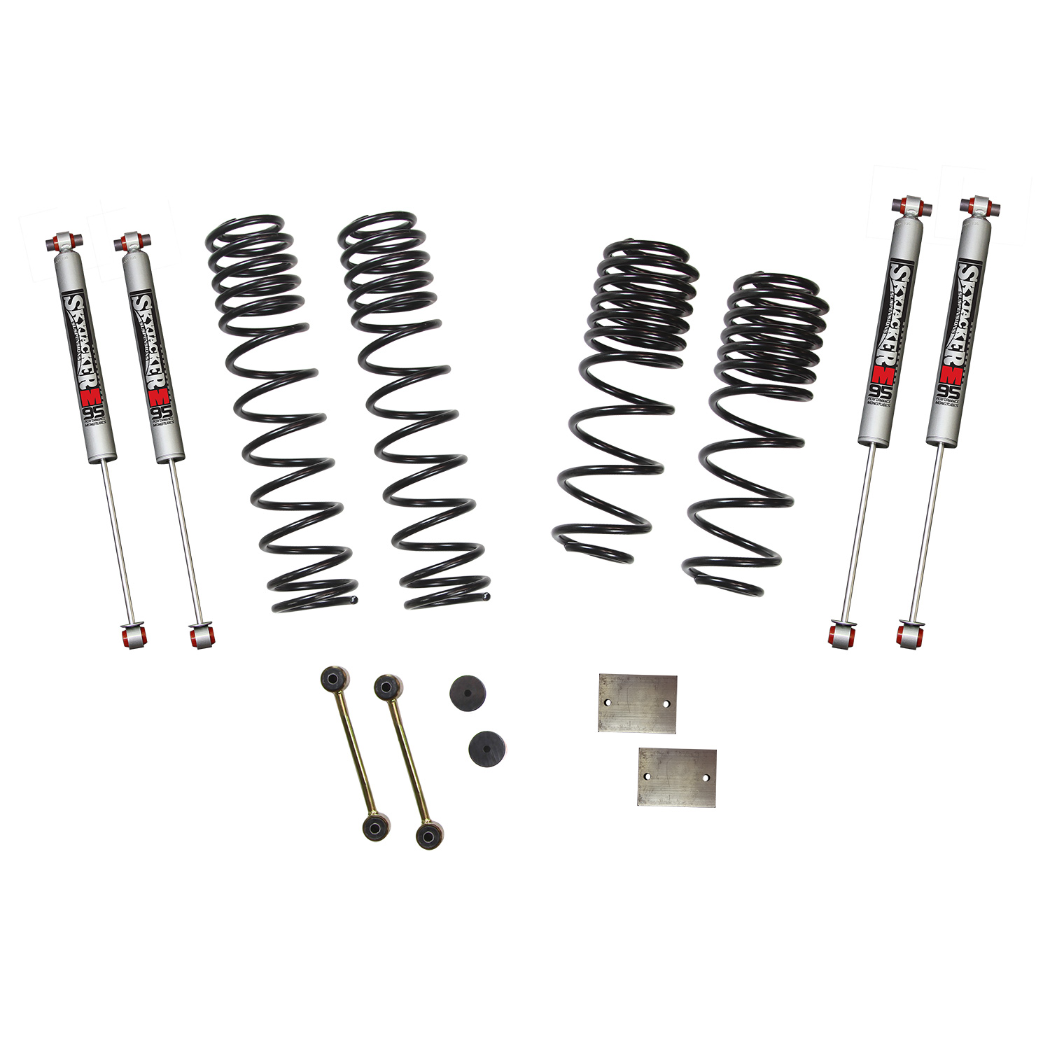 Jeep Jlsel 1 5 Inch Dual Rate Long Travel Suspension