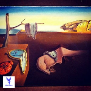 The persistence of memory (1931) by Salvador Dalí. Something to remember . . .