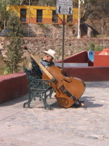 Músico en Guanajuato