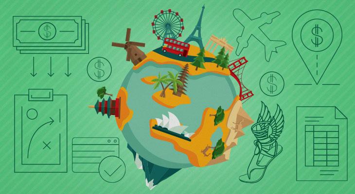 Quanto custa dar uma volta ao mundo?