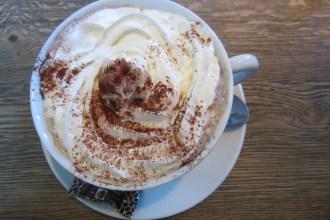 Hot chocolate at Urban Kitchen