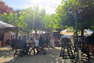 Beergarden at the Chauseehaus Wiesbaden