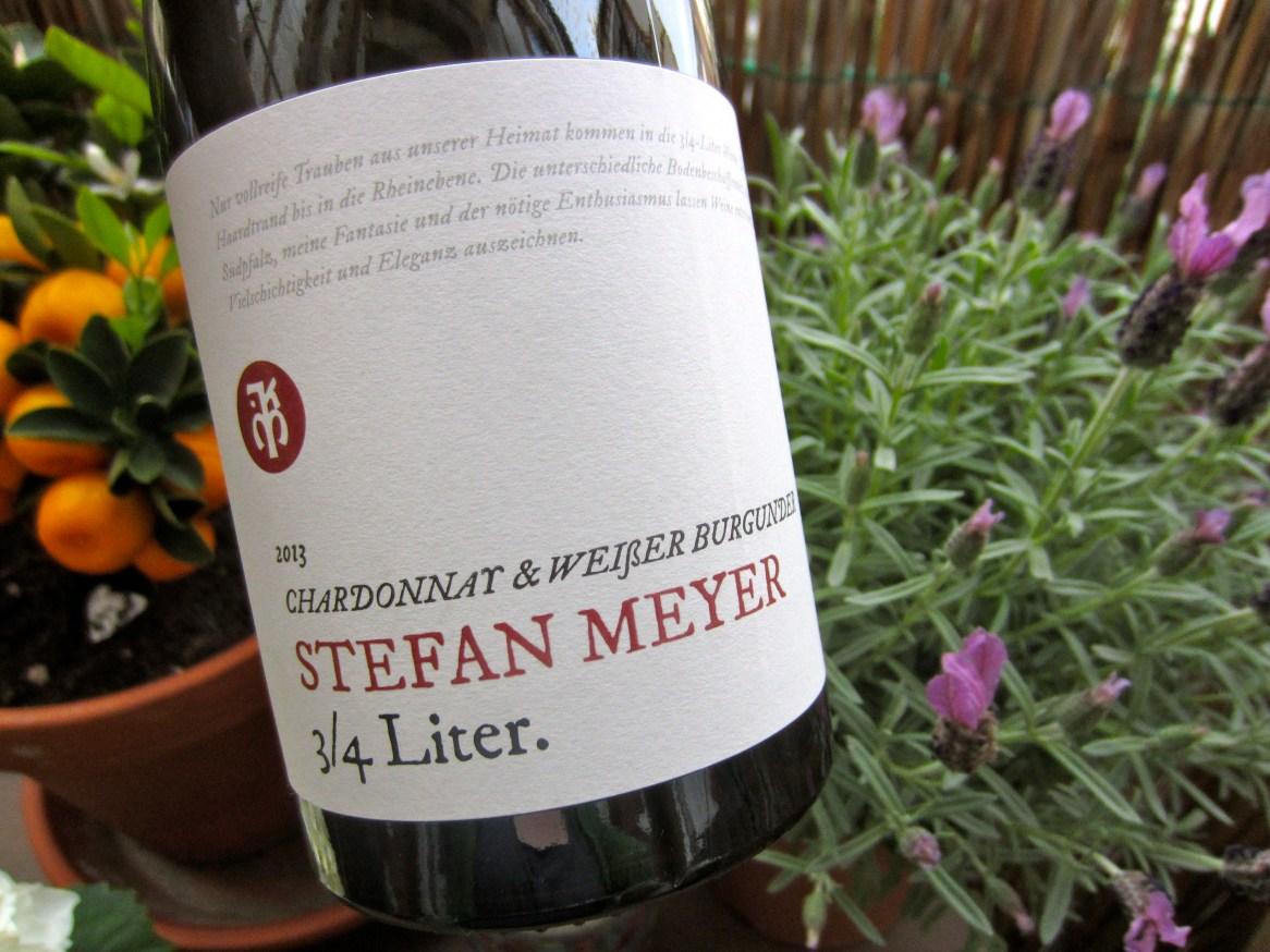 Stefan Meyer Chardonnay @ Weissburgunder 2013
