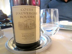 Bottle of French red wine
