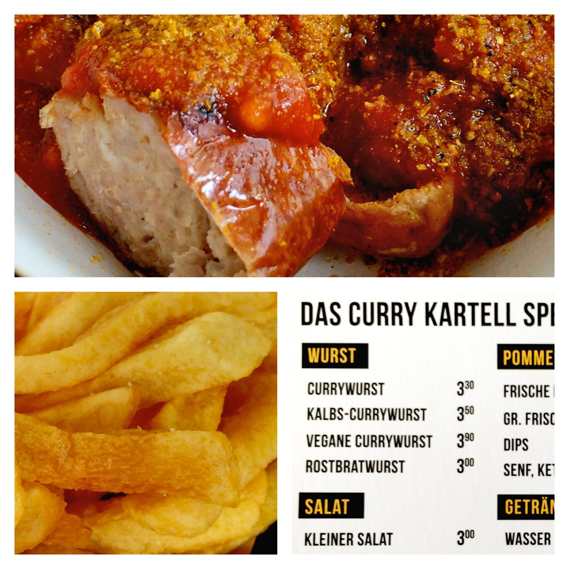 Instagram collage of Curry Kartell Wiesbaden