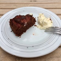 Dark Chocolate Cherry Cake | Dunkler Kirschkuchen (Recipe)