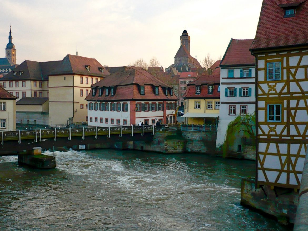View of Bamburg, Germany, famous for Rauchbier, smoked German beer