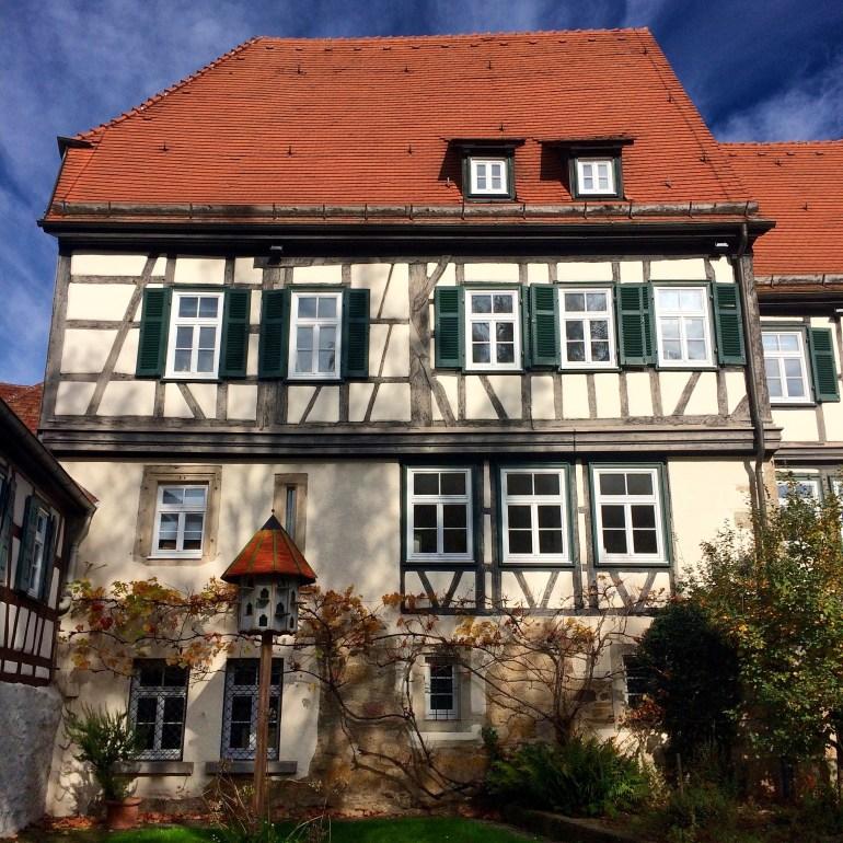 A half-timber house in Sindelfingen, Germany
