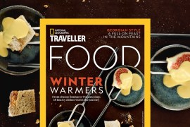 Cover of National Geographic Traveller Food December 2018 Issue