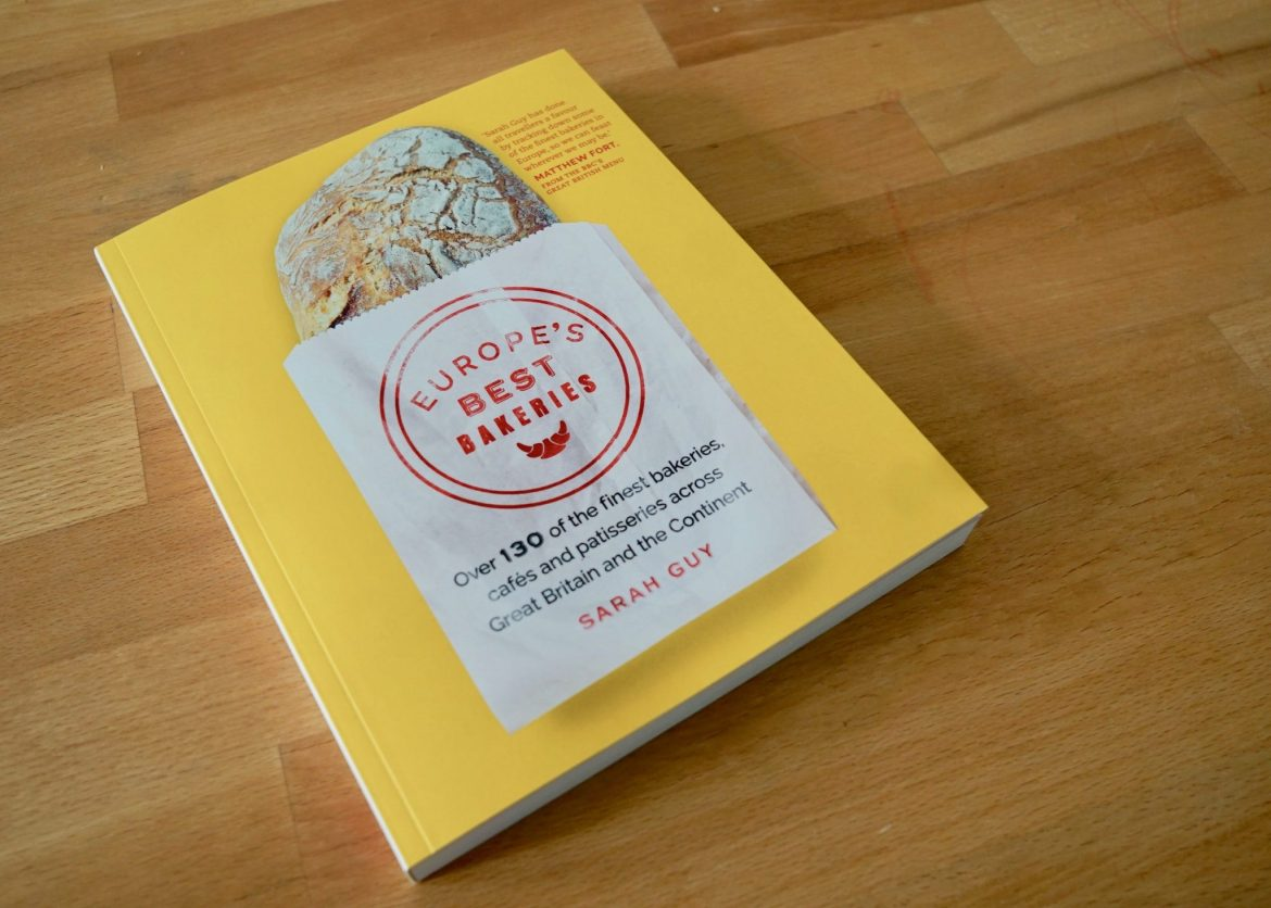 Cover of Europe's Best Bakeries book by Sarah Guy