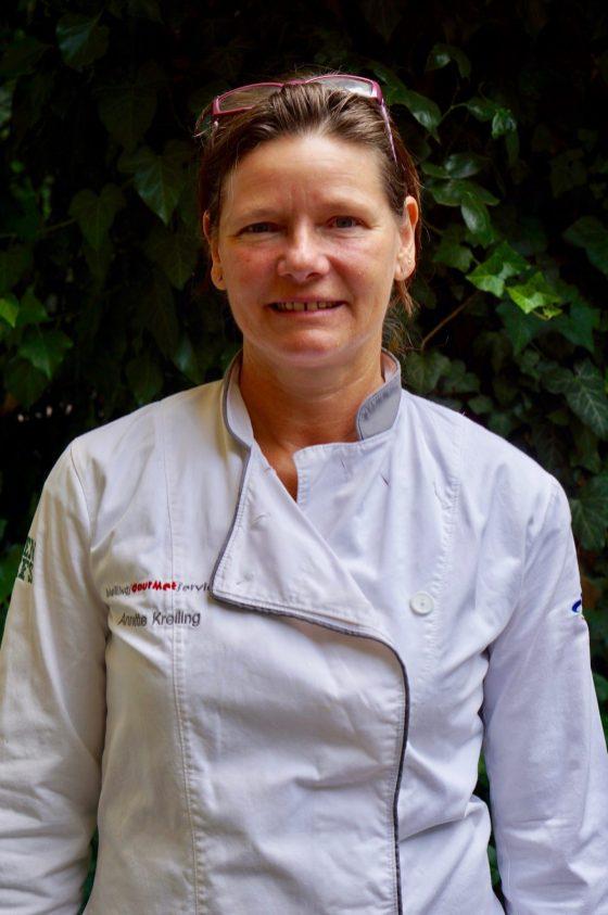 Annette Kreiling in chef's whites