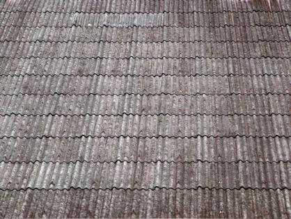 The Danger of Corrugated Asbestos Cement Roof Sheets Exposed