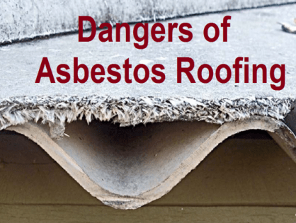 How to Identify the Risk Posed by Asbestos Roofing