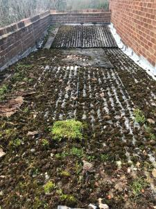 Asbestos Garage Roof Removal in Purley