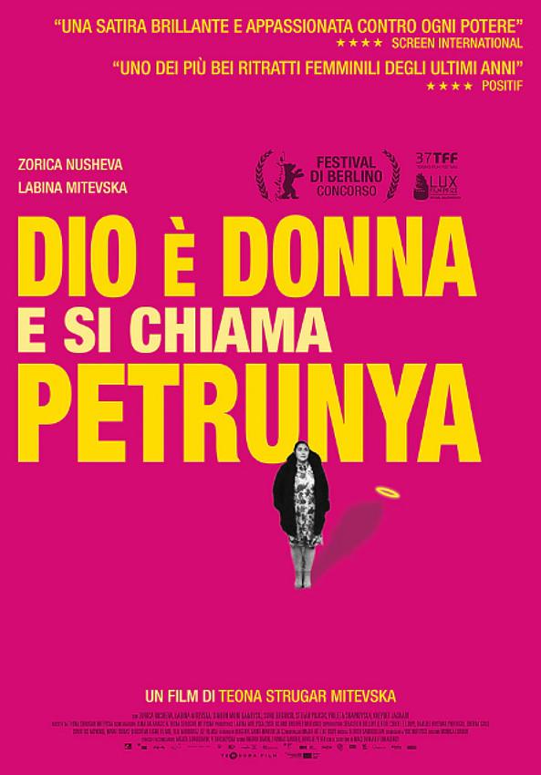 Dio è donna e si chiama Petrunya poster locandina
