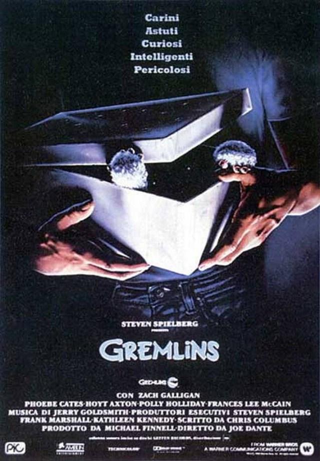 Gremlins poster locandina