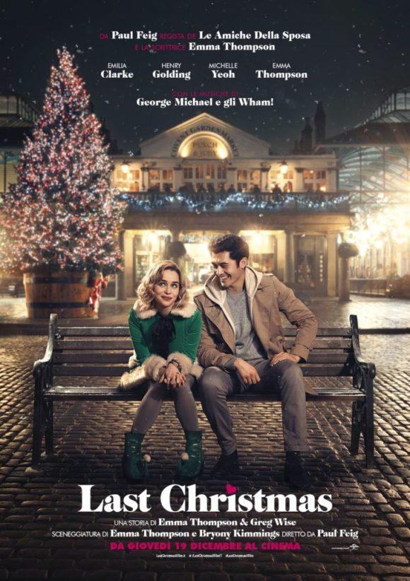 Last Christmas poster locandina