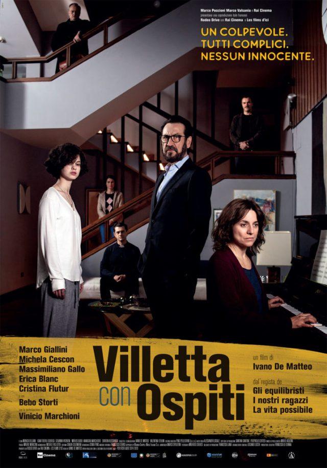 Villetta con ospiti poster locandina