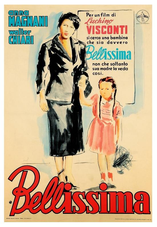 Bellissima poster locandina
