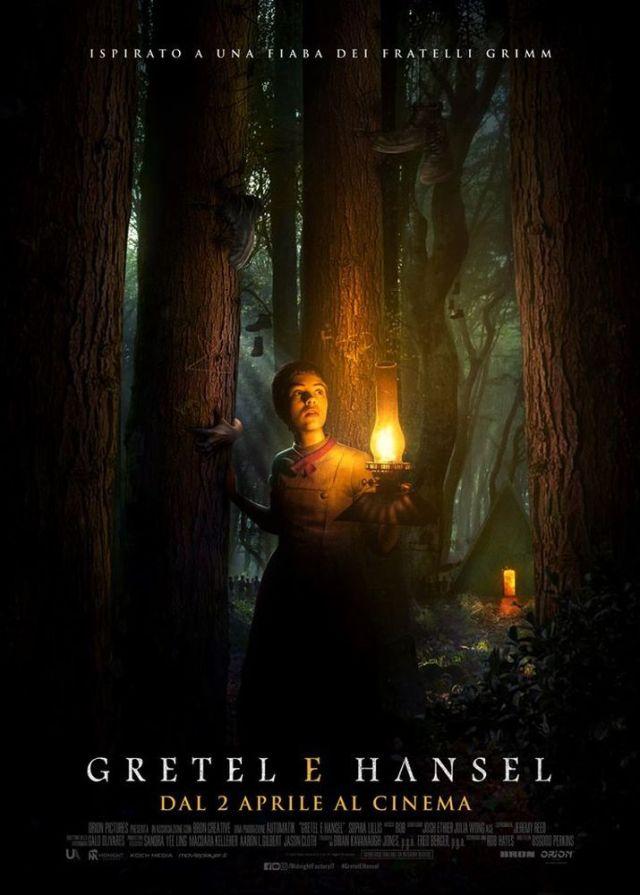 Gretel e Hansel poster locandina