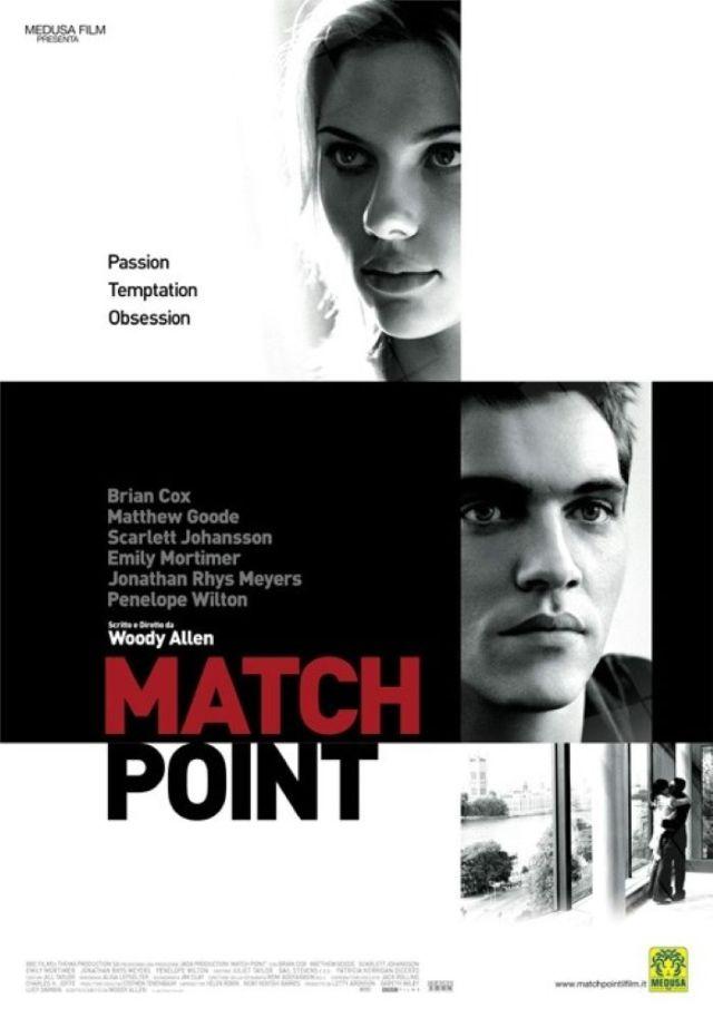 Match Point poster locandina