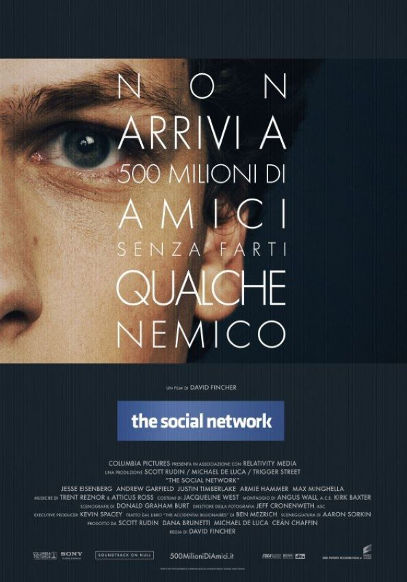 The Social Network poster locandina