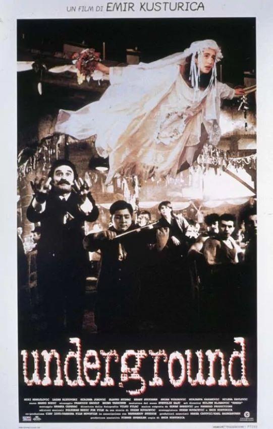 Underground (1995) poster locandina