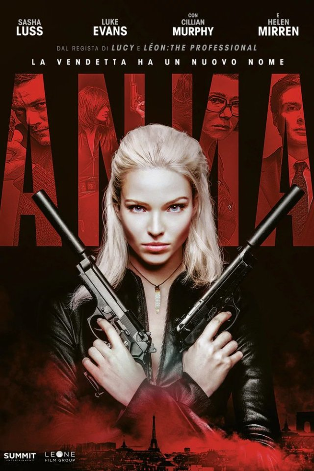 Anna (2019) poster locandina