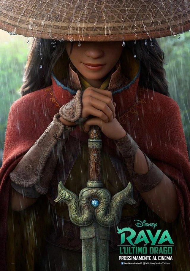 Raya e l'ultimo drago poster locandina
