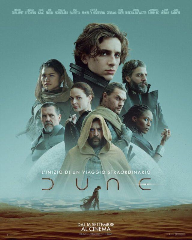 Dune (2021) poster locandina