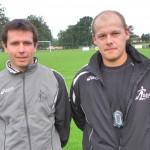Guillaume et Alexis, Coachs des Séniors B et A