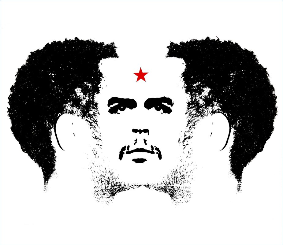"DIARIOS I/X - Mirroring ""Che"" - Screen printing - (Ascanio Cuba)"