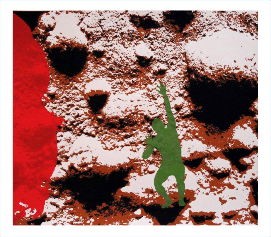 DIARIOS X/X - Tierra y Sangre - Screen printing - (Ascanio Cuba)