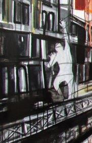 FREE VISION - Mix on canvas - Detail (Ascanio Cuba)